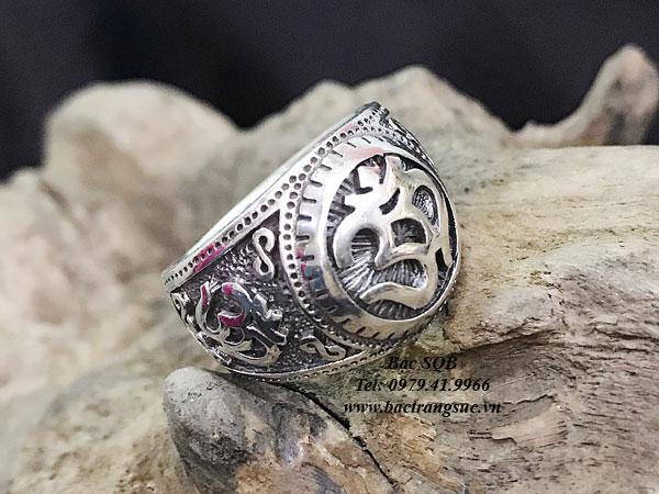 Nhẫn bạc nam RI-3005