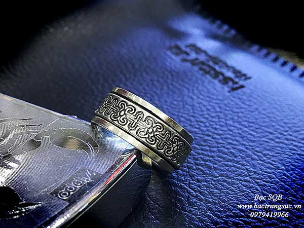 Nhẫn bạc Thái nam RI-3038 (OFF30%)