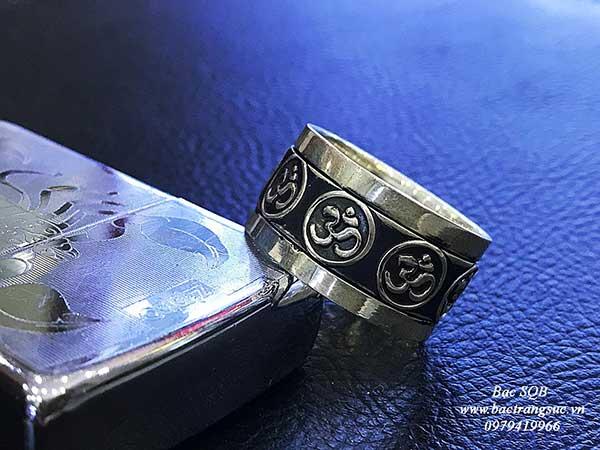 Nhẫn bạc Thái nam RI-3040 (OFF30%)