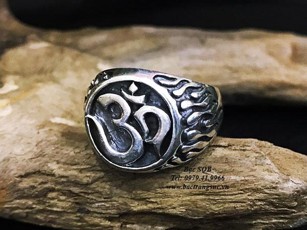 Nhẫn bạc nam RI-3058