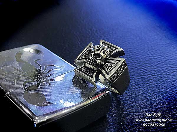 Nhẫn bạc Thái nam RI-3059 (OFF10%)