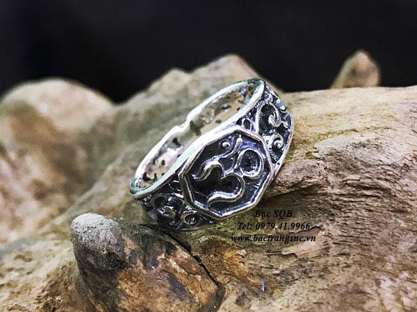 Nhẫn bạc nam RI-3061