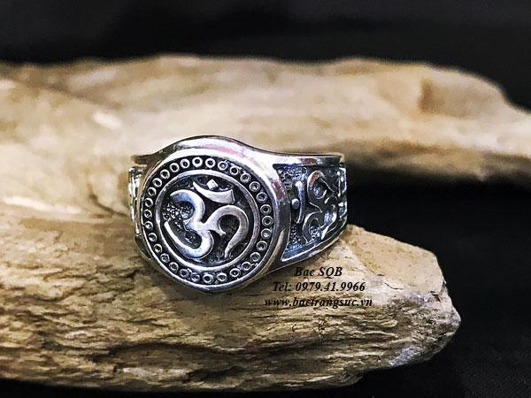 Nhẫn bạc nam RI-3064