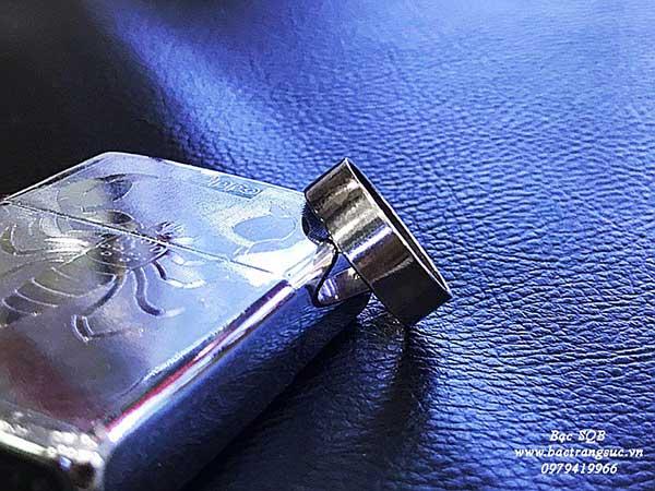 Nhẫn bạc Thái nam tròn trơn OFF 60%