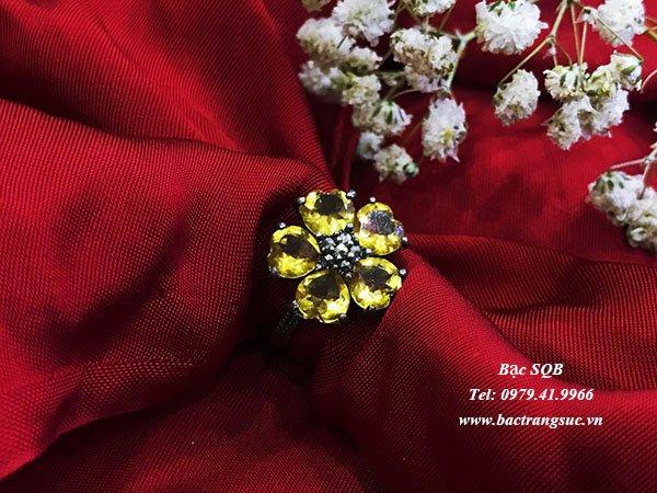 Nhẫn bạc nữ RI-2469