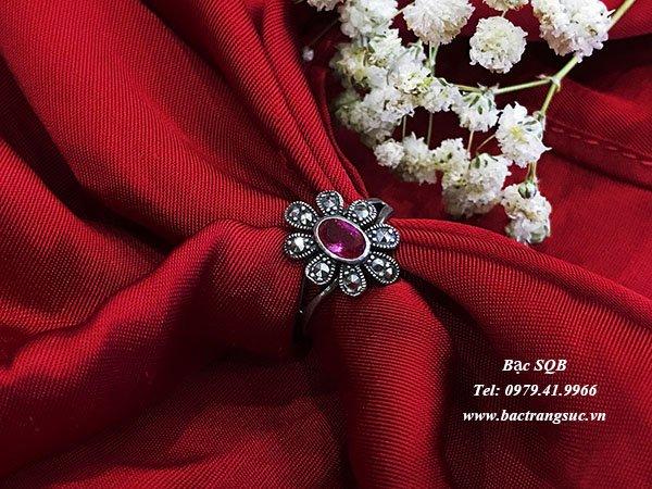 Nhẫn bạc nữ RI-2506