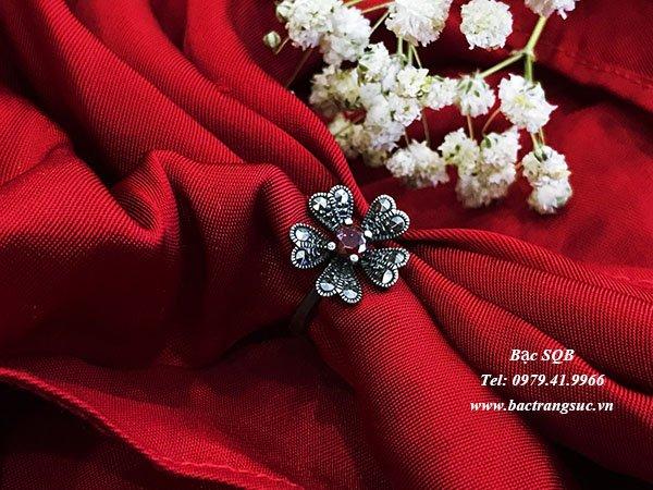 Nhẫn bạc nữ RI-2540