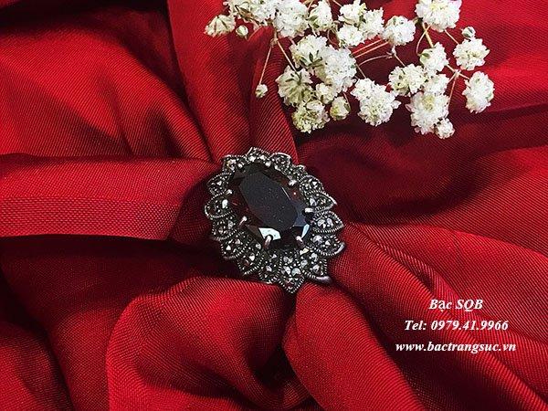 Nhẫn bạc nữ RI-2559