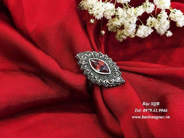 Nhẫn bạc nữ RI-2705