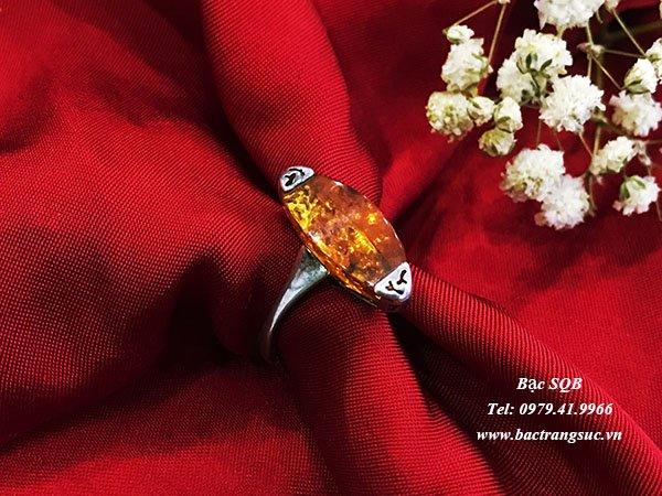 Nhẫn bạc nữ RI-2958