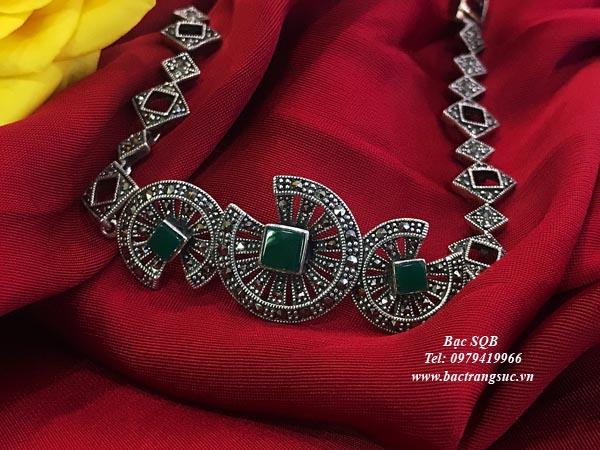 Lắc tay bạc nữ BRA-1254