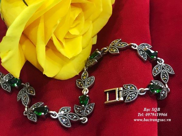 Lắc tay bạc nữ BRA-1216
