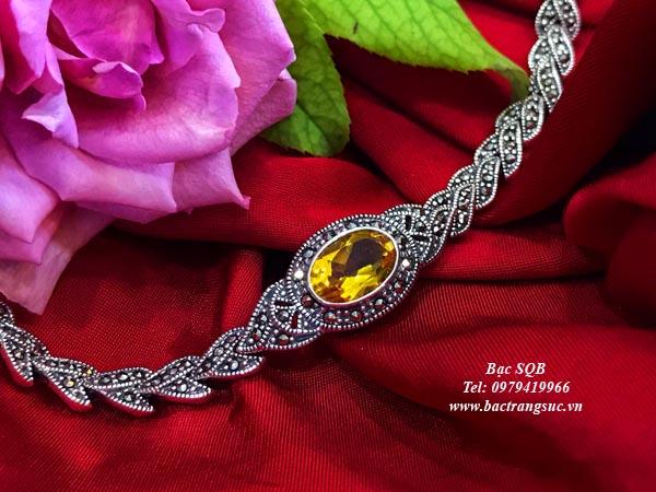 Lắc tay bạc nữ BRA-342