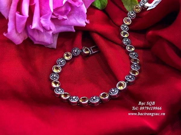 Lắc tay bạc nữ BRA-1284