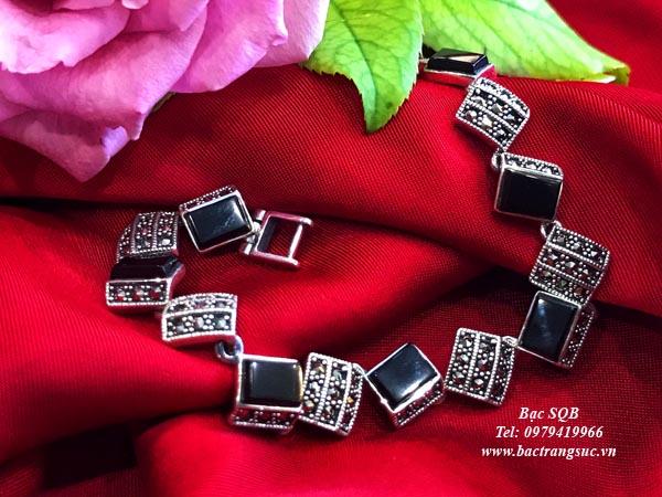Lắc tay bạc nữ BRA-1350
