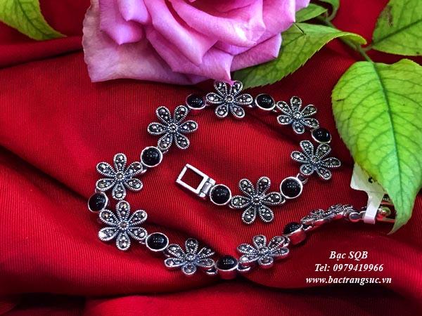 Lắc tay bạc nữ BRA-1265