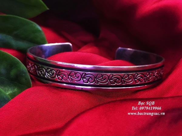 Lắc tay bạc nữ BRA-1103