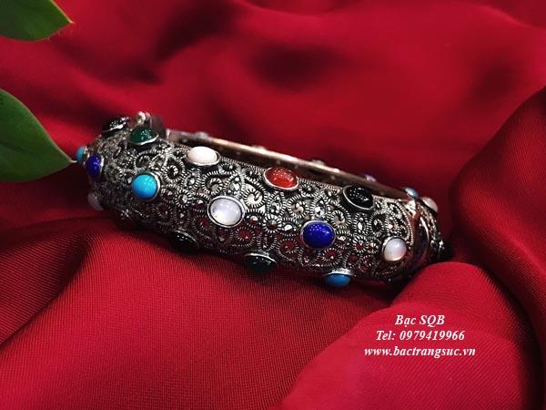 Lắc tay bạc nữ BRA-113