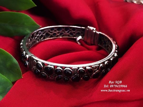Lắc tay bạc nữ BRA-1292