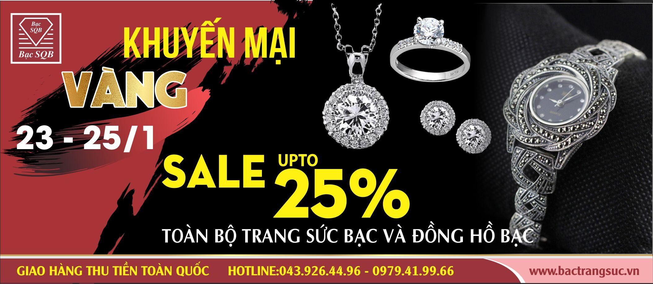 Slide Trang sức bạc