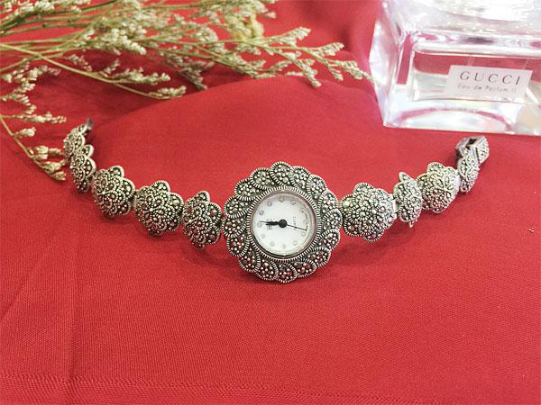 Đồng hồ bạc nữ WA-131