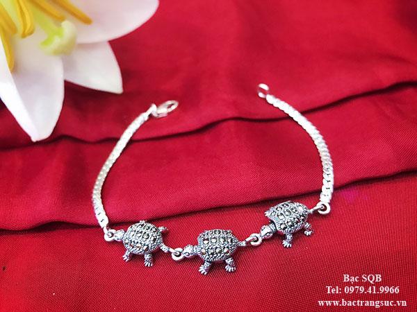 Lắc tay bạc nữ BRA-1361