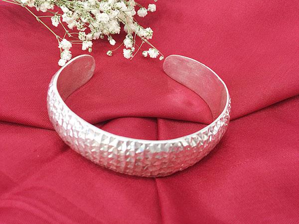 Lắc tay bạc nữ BRA-1097