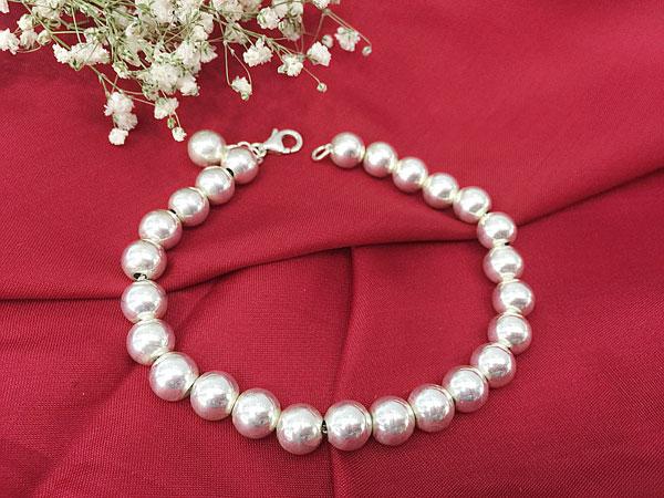 Lắc tay bạc nữ BRA-1257