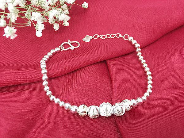Lắc tay bạc nữ BRA-1268 OFF 50%