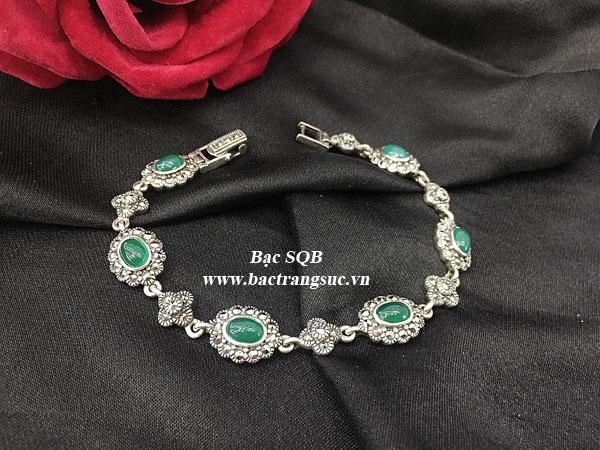 Lắc tay bạc nữ BRA-1273