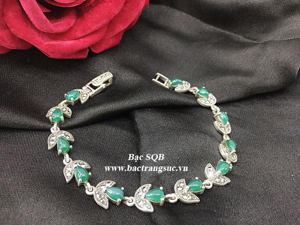 Lắc tay bạc nữ BRA-1286