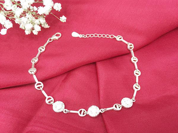 Lắc tay bạc nữ BRA-1329