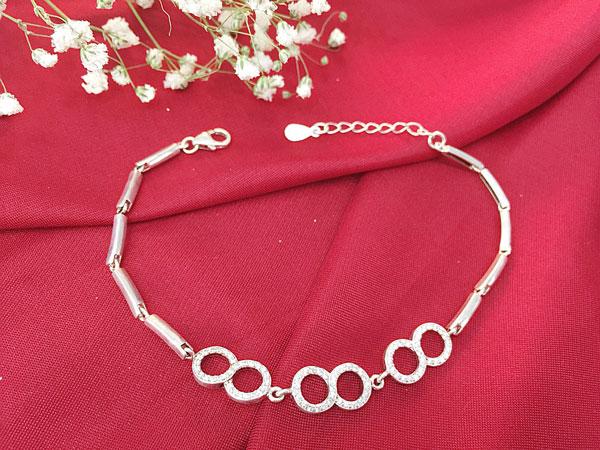 Lắc tay bạc nữ BRA-1330