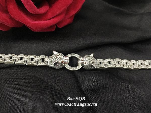 Lắc tay bạc nữ BRA-1332