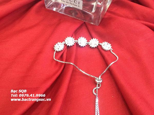 Lắc tay bạc nữ BRA-1371 (OFF20%)