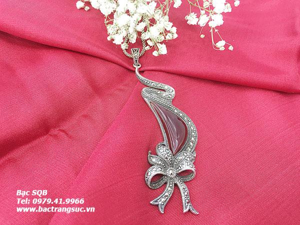 Mặt dây chuyền bạc nữ PD-1532