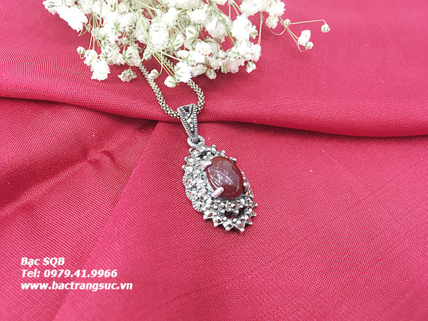 Mặt dây chuyền bạc nữ PD-1537
