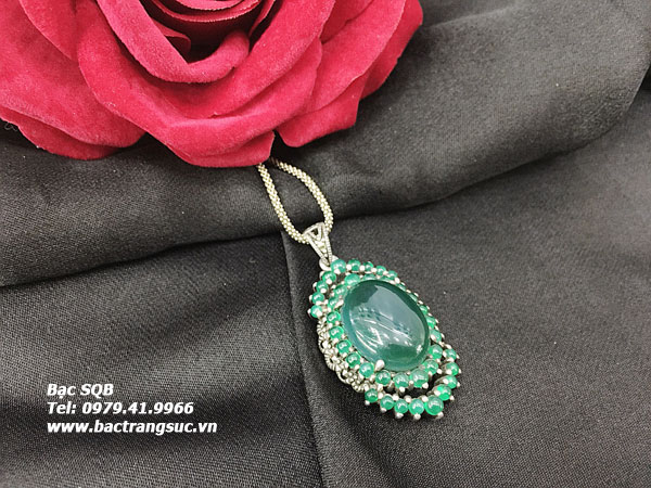 Mặt dây chuyền bạc nữ PD-1698