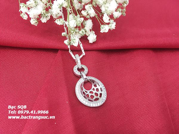 Mặt dây chuyền bạc nữ PD-2391
