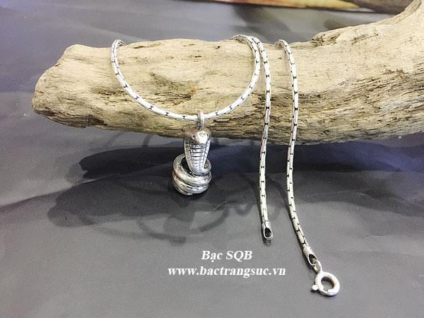 Mặt dây chuyền bạc nam PD-1830 OFF 50%