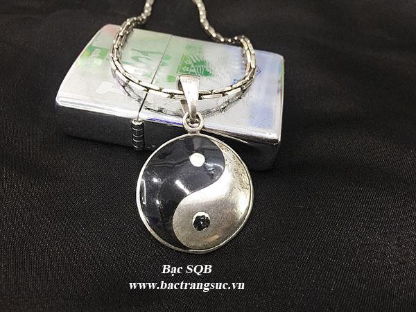 Mặt dây chuyền bạc nam PD-1892