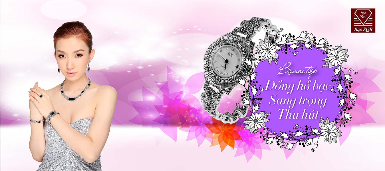 Bộ sưu tập đồng hồ bạc