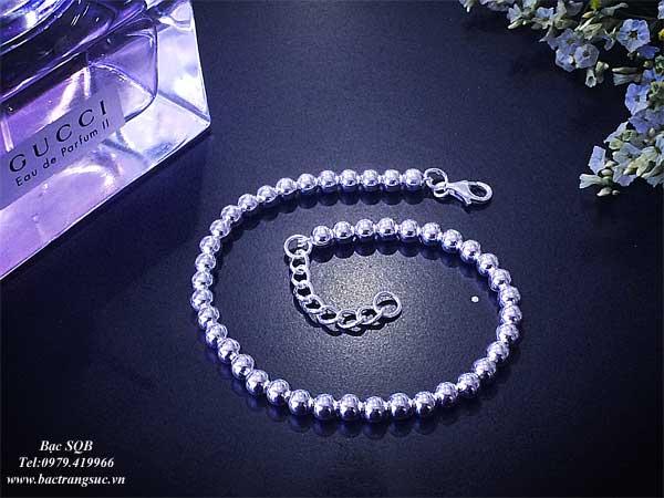 Lắc tay bạc nữ BRA-1094
