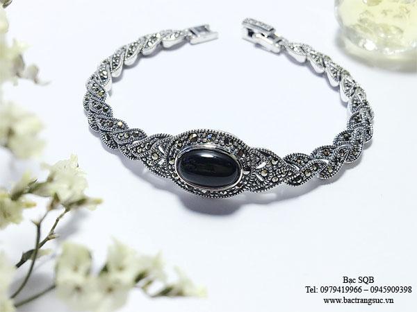 Lắc tay bạc nữ BRA-341