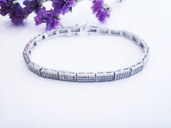 Lắc tay bạc nữ BRA-1108