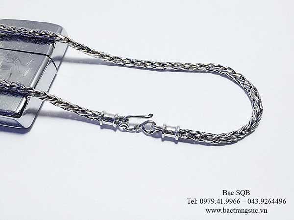 Vòng cổ nam bạc nam CHM271