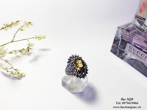 Nhẫn bạc nữ RI-1646