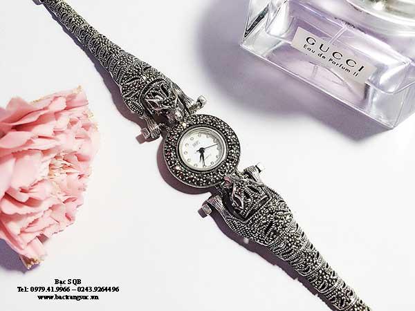 Đồng hồ bạc nữ WA-153
