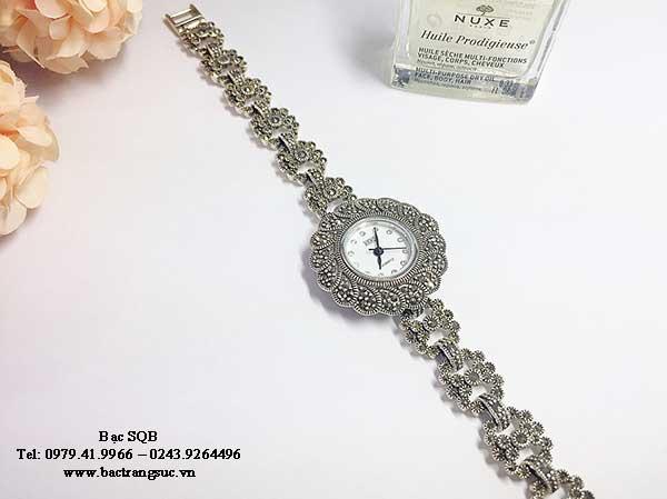 Đồng hồ bạc nữ WA-89