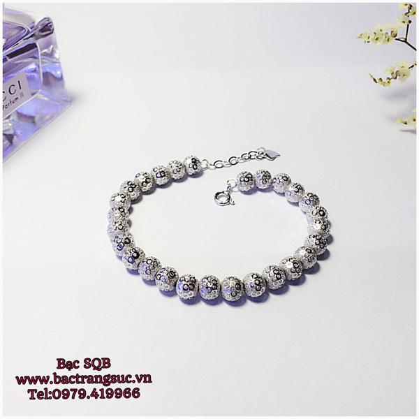 Lắc tay bạc nữ BRA-1129
